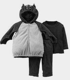 Carter's Baby Boys' Halloween Costume (Baby) Bat: Amazon http://amzn.to/2cPcNmM