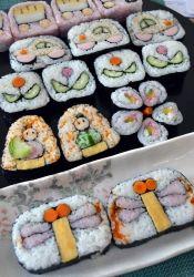 ひな祭りに♪おひな様の飾り巻き寿司 レシピ・作り方 by まめもにお 楽天レシピ