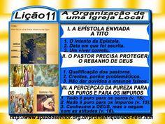 A Organização de uma Igreja Local - Ev. Luiz Henrique - EBDWeb