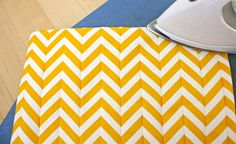 TUTORIAL: Chevron Patterned Pillow | MADE