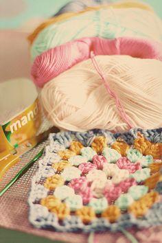 Crochet color