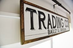 Hand Made Sign From Etsy