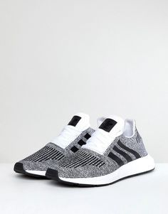 9e2cbc771 adidas Originals Swift Run Sneakers In Gray CQ2116 - Gray Shoe Game