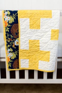 Yellow Plus Quilt Plus Quilt Crib Plus Quilt Yellow and by KBCute