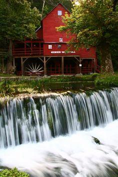 Hodgson Mill in Ozark County,Mo