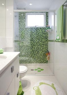 If you have a small bathroom in your home, don't be confuse to change to make it look larger. Not only small bathroom, but also the largest bathrooms have their problems and design flaws. Bathroom Design Small, Bathroom Colors, Modern Bathroom, Colorful Bathroom, Bathroom Ideas, Serene Bathroom, New Interior Design, Bathroom Interior Design, European Home Decor