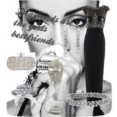 """Diamonds are the girls bestfriends"" by mariasty on Polyvore"