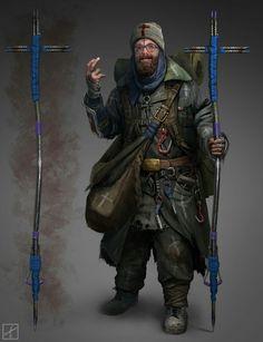 Character Concept - Priest of the Apocalypse Artist unknown.