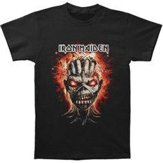 08144efac46c Iron Maiden Eddie Exploding Head T-shirt - Iron Maiden - I - Artists Groups