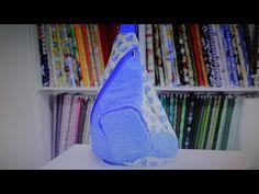 Passo a Passo d mochila feita pela artesã Maria Adna com a coleção 018 - Borboletas da Fabricart Tecidos