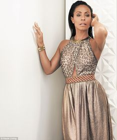 Swayed: Jada Pinkett Smith oozes sexiness and glamour in the July issue of Haute Living Ne...