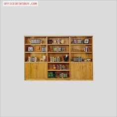 Kathy Ireland Home by Martin Furniture - Waterfall Trio Library Wall Bookcase in - http://officedesksbuy.com/kathy-ireland-home-by-martin-furniture-waterfall-trio-library-wall-bookcase-in.html