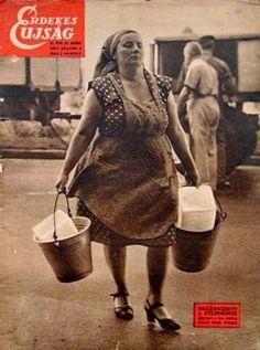 1957. Budapest--amikor még jégszekrény volt, és a jegestől vettük a jeget...