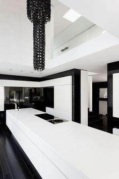 Kitchen Casa Murano By LEE+MIR, Futuristic Interior Design, Minimalistic, Modern Architecture