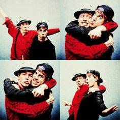 Red Hot Chili Peppers - Anthony Kiedis and John Frusciante