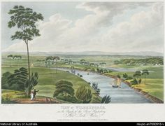 View of Wilberforce, on the Banks of the River Hawkesbury, New South Wales. In collection: Views in Australia, or, New South Wales & Van Diemen's Land delineated London : Published by J.