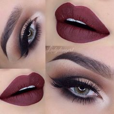 Our Friday night would be complete with this beautiful sultry look and a glass of red wine @LadyDanger1 LASHES:Flutter® Lashes in #LORI from our Xtreme Collection