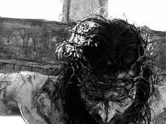Jesus was crucified on the cross for our sins. Thank you Jesus! My Jesus, Jesus On The Cross, King Jesus, Holy Cross, Jesus Paid It All, Jesus Christus, Christian Wallpaper, Christian Artwork, Bible Verses