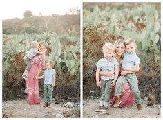 Mom and sons pictures in Southern California by Orange County family photographer Brooke Bakken