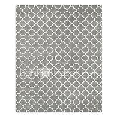 Lã cinza adornado tapete de área com padrão geométrico 5 '* 8' de 2017 por R$1081.57