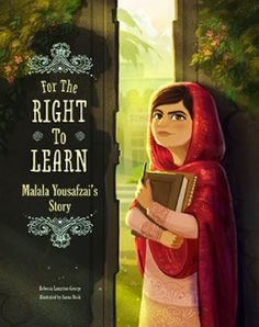 A picture book about Malala's story with breathtaking illustrations and a tale told for inspiration.