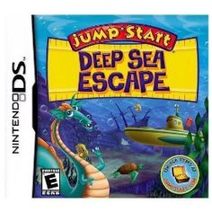 Jumpstart Deep Sea Escape Nintendo DS -- Visit the image link more details. Note:It is Affiliate Link to Amazon.