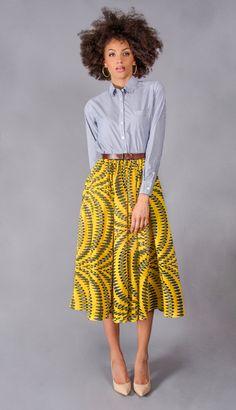 Demestiks NYC~African fashion, Ankara, kitenge, African women dresses, African prints, African men's fashion, Nigerian style, Ghanaian fashion ~DKK