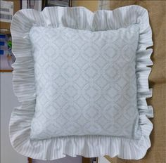 making pillow covers - How To Make A Pillow Cover