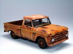 Weathered 64 Chevy C10