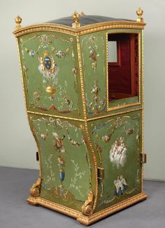 18th Century Louis XVI Sedan Chair   From a unique collection of antique and modern chairs at https://www.1stdibs.com/furniture/seating/chairs/