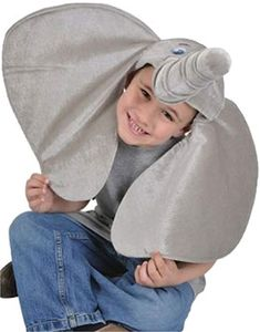 These kids elephant costume accessory hats are a blast. The plush grey ears and trunk create the Dumbo illusion, get ready to take flight! This hat is great on its own or with other costumes and accessories in our store. Bird Costume, Costume Hats, Costume Ideas, Safari Costume, Elephant Hat, Elephant Gifts, White Elephant, Seussical Costumes, Halloween Costumes