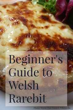 Beginner's Guide to Welsh Rarebit - Pauline Wiles - - In honor of Welsh Rarebit Day, here's an introduction to this delicious British dish of melty cheese on toast with extra flavour boosts. Recipe links too. Pub Food, Food 52, Cheese Dishes, Cheese Recipes, Delicious Vegan Recipes, Yummy Snacks, Recipe For Welsh Rarebit, Rarebit Recipes, Welsh Rabbit