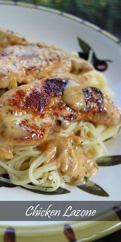 Rich, Creamy Chicken Lazone Recipe