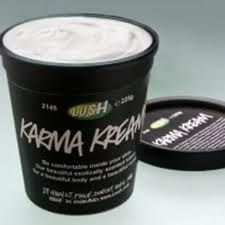 Karma Kream by Lush - best body lotion I've ever used - totally addicted