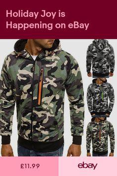 New Men's Winter Slim Hoodie Warm Hooded Sweatshirt Coat Jacket Outwear Sweater Sweater Coats, Sweater Jacket, Jumper, Adidas Camouflage, Nike Pullover Hoodie, Winter Hoodies, Warm Hoodies, Hooded Sweatshirts, Jackets