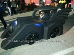 Holy Batman! Its the Batmobile Wheelchair Costume...