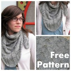 Spring Lace Shawl Free Knitting Pattern