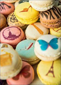 www.dulceimpresion.mx  - Geniales ideas de macaron para eventos, promocionales, festejos, mesas de postres y pastelería creativa.  Original para bodas, quince años, aniversarios, bautizos y comuniones.