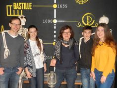 Bravo à vous! La Bastille n'a plus de secret pour vous maintenant! A bientôt pour la Sorbonne!