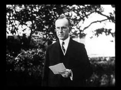 President Coolidge, Taken on the White House Ground (1924)
