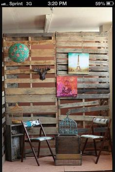 ..pallet wall