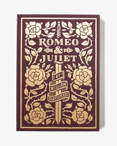 Romeo & Juliet Literary Journal