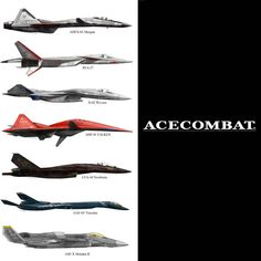 Ace Combat Aircraft by on DeviantArt
