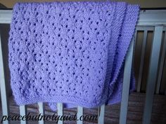 A Free Knitting Pattern for a beautiful, soft baby blanket!