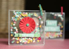 """Good morning everyone! Today we are featuring cards created by some of our design team members using their favorite Pebbles products. """"I just love the Country Picnic collection. It is so soft and feminine, and the kraft combined with the other colors just sing to me. I created a card set using some of my …"""