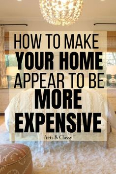 Check out tips on how to make your home look more expensive on your budget! I have found that it doesn't cost a lot of money to make your home look nice. Learn the basics of how to make your home look the way you want it to. Home Renovation, Home Remodeling Diy, Trendy Home Decor, Cheap Home Decor, Diy On A Budget Home Decor, Rental Home Decor, Thrifty Decor, Rental Decorating, Decorating Your Home