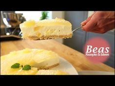 No Bake Ananas-Kokos-Käse Kuchen Rezept | Torte ohne backen | Cheesecake - YouTube