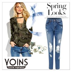 """""""Yoins 9/2"""" by zerina913 ❤ liked on Polyvore featuring H&M, yoins, yoinscollection and loveyoins"""