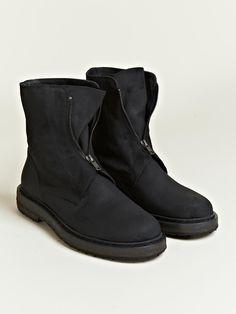 Ann Demeulemeester Men's Scamosciato Engineer Boots   LN-CC