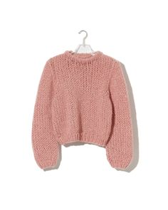 Maiami Cashmere Sweater Coral